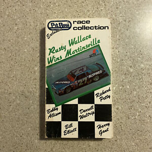 Pit Row Race Collection Rusty Wallace Wins Martinsville Nascar VHS