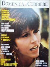 La Domenica del Corriere 25 Aprile 1972 Totò Fonda Oscar Vietnam Rivera Radio Tv