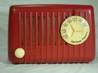 Restored Northern Electric Midge tube radio & 6 month guarantee
