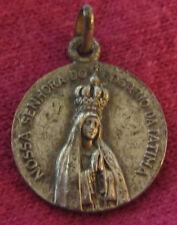 """Antique Catholic Religious Holy Medal - """" TSCHUDIN """" - ROSSA SENHORA DO ROSARIO"""