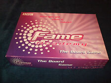 FAME ACADEMY-- THE FAMILY BOARD GAME BY ENDEMOL 2002