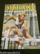 ATHLETICS WEEKLY - NOV 26 1983 - SHIRLEY STRONG
