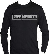 fm10 camiseta de manga larga unisex LAMBRETTA logo PLATA en otros colores