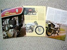 Old DKW MOTORCYCLE Article/Photo's/Picture's:250,350,