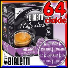 64 Capsule caffè BIALETTI MILANO cialde Mokespresso alluminio espresso Mokona•