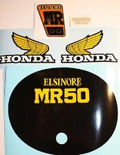 Honda MR50 K1 1975 full decal sticker kit AHRMA VMX Elsinore Vintage Motocross