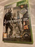 🤩 xbox 360 neuf blister officiel jeu crysis 2 «le plus beau jeu sur console»