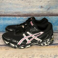 Asics Duomax Gel Women's Size 6.5 Running Black Athletic Shoes T27BQ