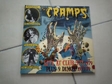 THE CRAMPS Live at the 57 club 79 2LP Gatefold