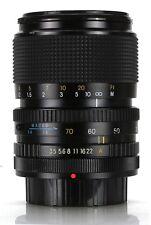 Carl Zeiss Jena Jenazoom 35-70mm 3.5-4.5 MC Macro Mount Canon FD  (Réf#E-151)