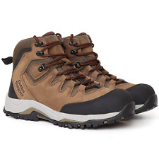 Steel Toe Work Safety Shoes for Men Waterproof Non-Slip Lightweight Hiking Shoes