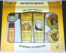 Burt's Bees Tips and Toes Kit Holiday Gift Set, 6 Travel Size Products in Gift