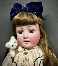 """24"""" Schoenau & Hoffmeister - 1909-6 - Bisque-Head Antique German Doll PB-in-Star"""