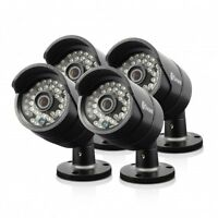 Swann PRO-A850 - 720P Multi-Purpose Day/Night Security Camera 4 Pack SRPRO-A850W