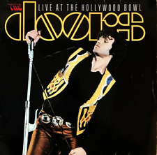 THE DOORS - LIVE AT THE HOLLYWOOD BOWL (LP) (G-VG/G+)