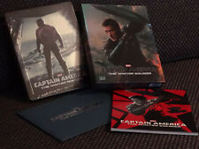 Captain America 2 The Winter Soldier Steelbook [Blu-ray] KimchiDVD Blufans LESEN