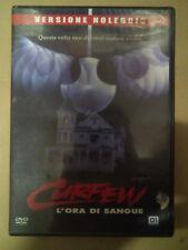 Vendo film dvd CURFEW - L'ORA DI SANGUE (lotto stock) FUORI CATALOGO