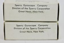 BEST SOUNDING D-GETTER SPERRY 5687 MATCHED TUBE PAIR ever Made 6900, 7044,710550