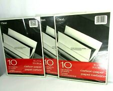Mead Carbon Tracing Paper 10 Reusable Sheets 3 Pack Lot (30 sheets) New Sealed
