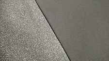 "Med Gray Automotive Upholstery Headliner Fabric 3/16"" Foam Backing 60""Wide Bty"