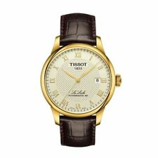 Tissot T006.407.36.263.00 Powermatic 80 Automatic Men's Watch - Gold