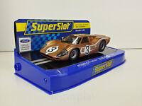 Slot Car Scalextric Superslot H3951 Ford Gt Mkiv #3 24Hr. le Mans 1967