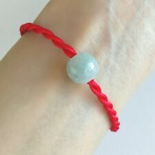 red woven bracelet man girls lovers bracelet jade beads lucky present red rope