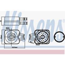 Nissens Ölkühler, Motoröl Audi, Ford, Seat, Skoda, Volvo, VW 90607
