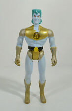 "RARE 1991 Gold & Blue Talking Captain Planet 6"" Tiger Electronics Action Figure"