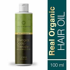 Organic Hair Oil For Hair Growth + Bhringraj Amla Coconut Oil & Castor Oil 100ml