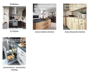 PDF Kataloge (elektronisch) von FL Line, TrendLine und Senso Küchen - kostenlos