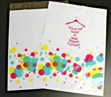 """25 - 12x15.5"""" Poly Mailers """"Bubbly Dress Shopping""""   Shipping Clothing Bags"""