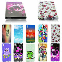 Beautiful Ultra Slim Soft Silicone Back Cover Case Protector For Sony Xperia Z5