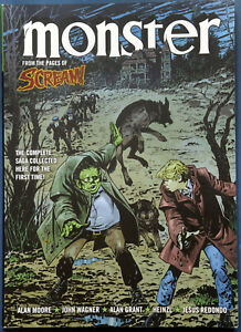 Monster Alan Moore Wagner Heinzl Complete Saga Paperback 2016 Comic 2000AD VGC