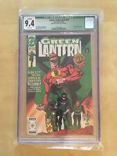Green Lantern #19 (1991) CGC 9.4 Signed by (Late GL Creator) MART NODELL HTF!!