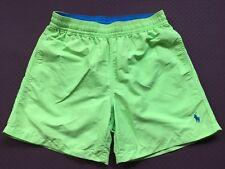 Polo Ralph Lauren Hawaiano Nadar Pantalones Cortos Neón Cal Tamaño S O L