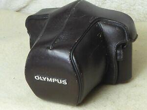 Olympus OM OM1 MD OM2/2N OM2 SP OM3 OM4 Black PU Leather Everready Case Top