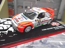 Ford Escort RS Cosworth Rally de Monte Carlo 1994 #23 puras cepsa Ixo Altaya 1:43