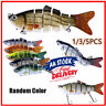 5Pcs Bionic Swimming Lure Fishing Bait 10cm Accessory for All Kinds Fish Tools