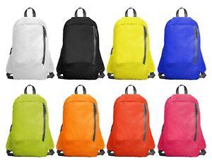 ROLY Unisex Adult Kids 7L Small Mini Lightweight Waterproof Rucksack Backpack