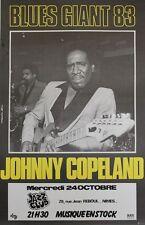 """""""JOHNNY COPELAND / BLUES GIANT 83"""" Affiche originale entoilée"""