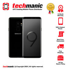Samsung Galaxy S9 SM-G960F - 64GB - Midnight Black (Unlocked) Smartphone