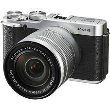 Fujifilm X-A2 Mirrorless Digital Camera with 16-50mm Lens - Silver