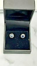 9CT GOLD DIAMOND EARRINGS