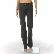 James Lakeland Jeans Grau Baumwolle Bootcut Schlaghose Größe 44/UK 12 Fx 673