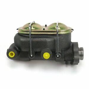 "GM Corvette Master Cylinder 1-1/8"" Bore Dual Reservoir Disc Brakes Disk/ Drum"