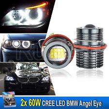 Kit 120W LED CREE Éclairage Angel Eyes Xénon Pour BMW E39 E60 E61 E53 E83 E67 X3