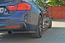 BODY KIT LAMA SOTTO PARAURTI POSTERIORE SPLITTER LATERALI BMW 4 F32 M-PACK