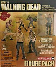 McFarlane Toys Building Sets-The Walking Dead Figure Pack 14521