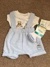 Winnie The Pooh Tiny Baby Boy Outfit BNWT
